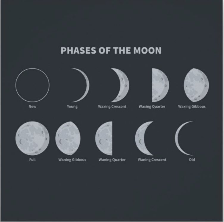 Black children love 🥰 science when you make it relevant.  I remember how excited my students where when I taught them a song to know the phases of the moon, time of month, the difference in the Far v. Near sides, and the dark spots (Maria). #ABAL🇺🇸folks are brilliant! #BHM https://t.co/UeJkgBWgV5