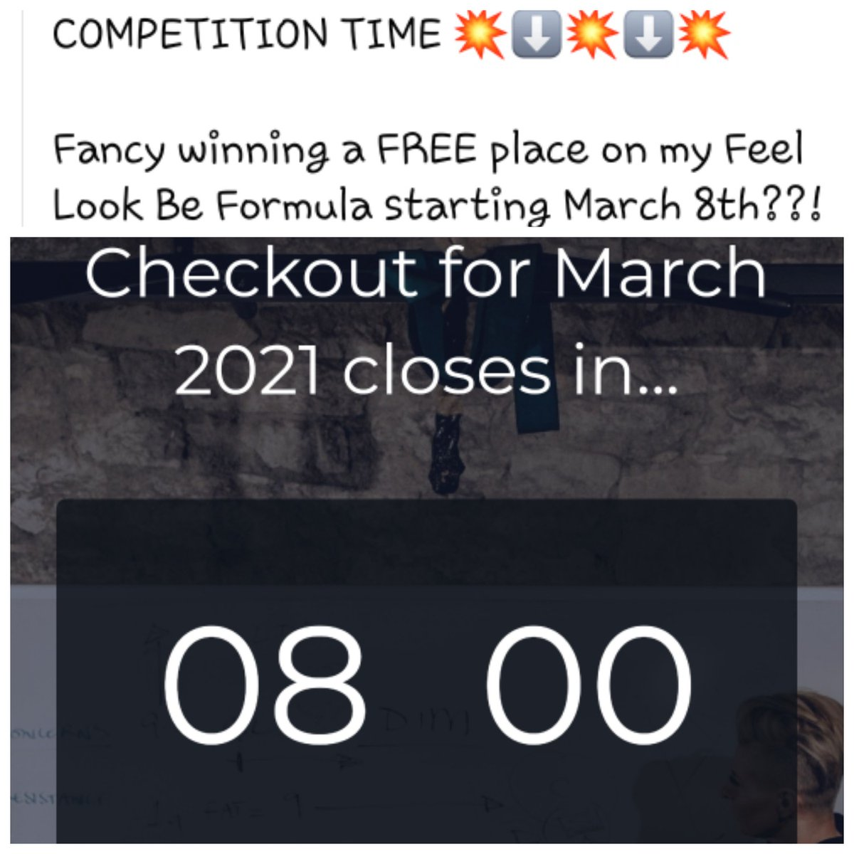 Ooh everyone loves a chance of a freebie 😍 This programme is changing womens lives all around the world 🤩 #lifestyle #Competition #win #healthy #fit #grateful #women #Diet #coach