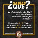 Image for the Tweet beginning: #LaQueNosVuelveLocos • #SabíasQué del #Beisbol de #Venezuela