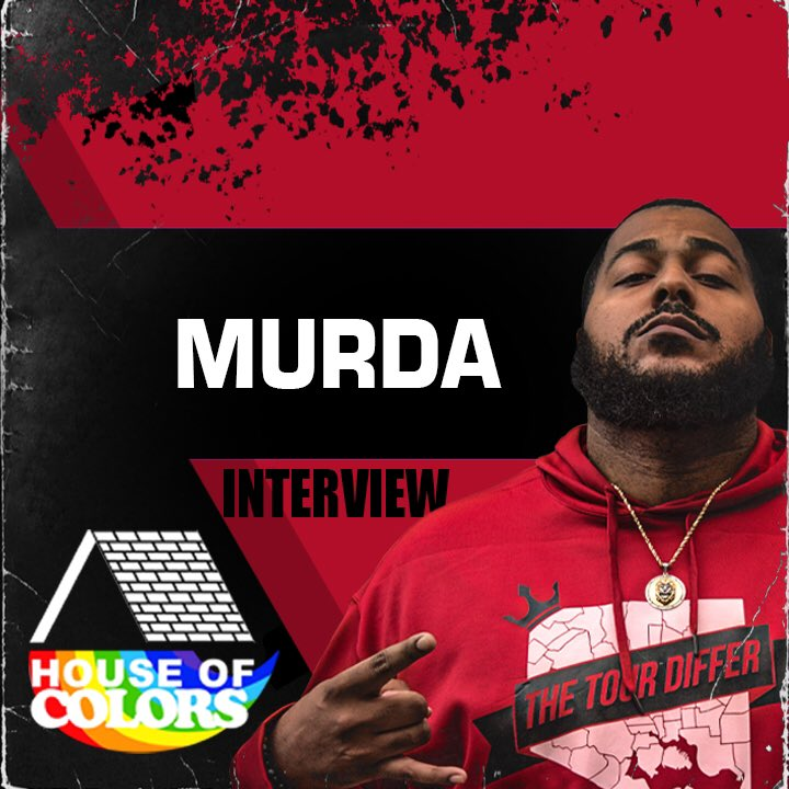 Our new interview with @murda_red821 is available now on YouTube/invincibleyoungempire. We talk everything from cloning, intergender battle rap, Prez Mafia, Nu Jerzey Twork, royalties and battle rap and more! #HouseofColors #BattleRap #hiphop #Murda #TheTourDiffer #URLTV