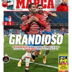 "Image for the Tweet beginning: 🗞 #LaPortada de @marca: ""Grandioso"""