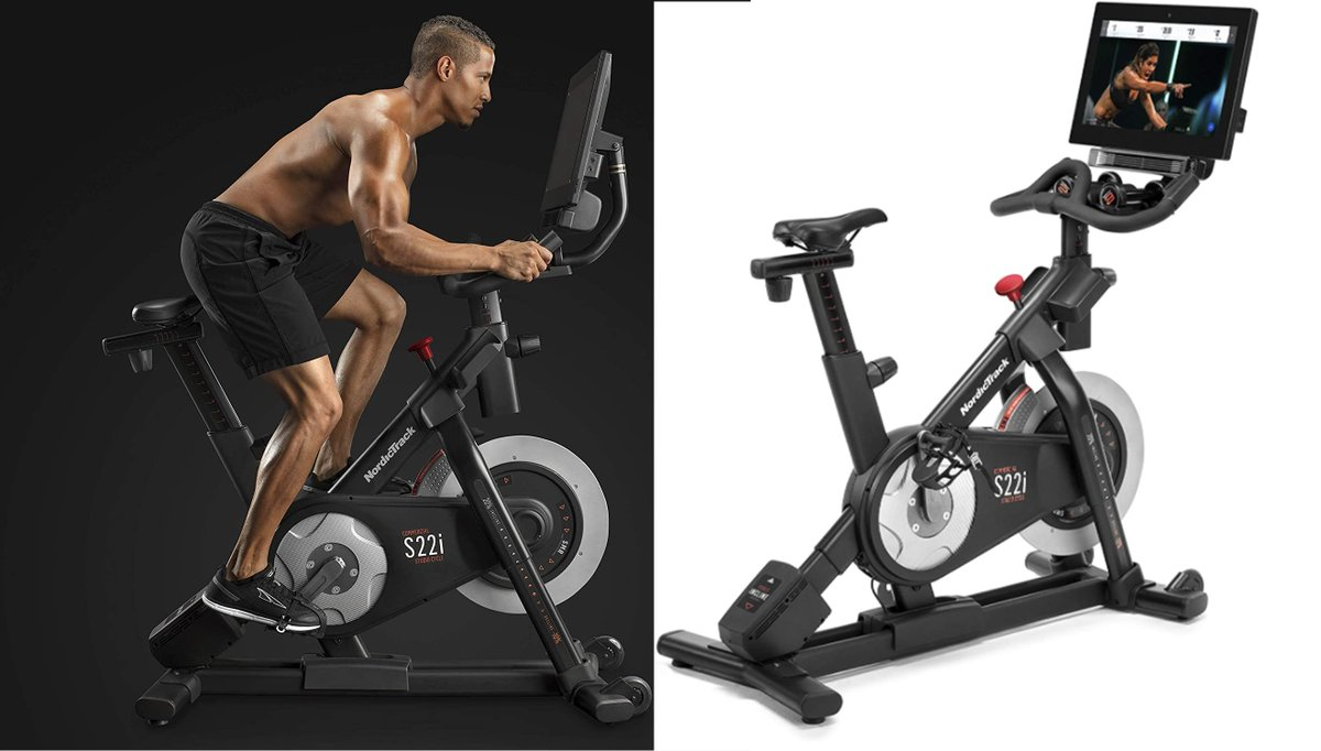 Today's top #NordicTrackS22i deal, save $200 on NordicTrack S22i Studio Cycle for only $1,999 with free shipping at Amazon. Limited time only deal. 1-year iFit family membership. Get coupon  to enjoy savings.  #Ads #fitness #NordicTrackdeals #Nordic #fit