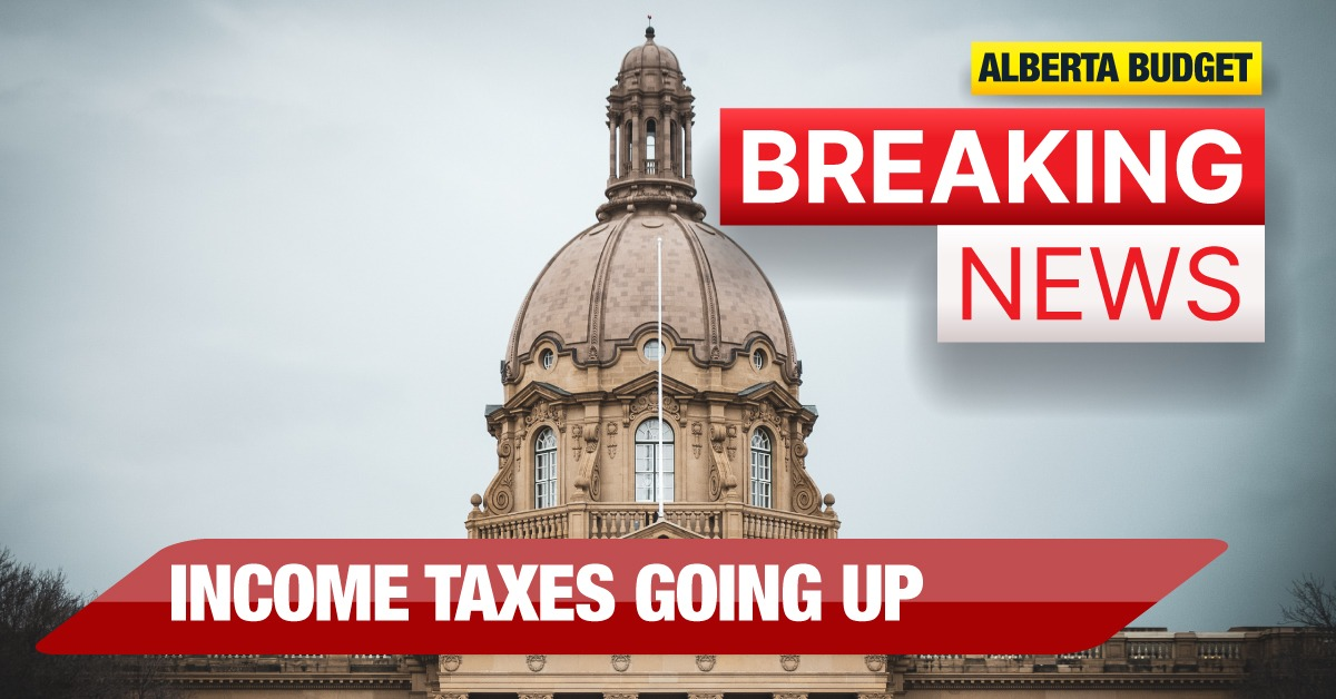 Jason Kenney is raising taxes, and he knows it. Thanks to his sneaky bracket creep scheme in Budget 2021, Albertans will be paying $100 million more in income tax this year. Broken promise. #ableg#abpoli#abbudget #budget2021 #abtax #PromiseMadePromiseBroken