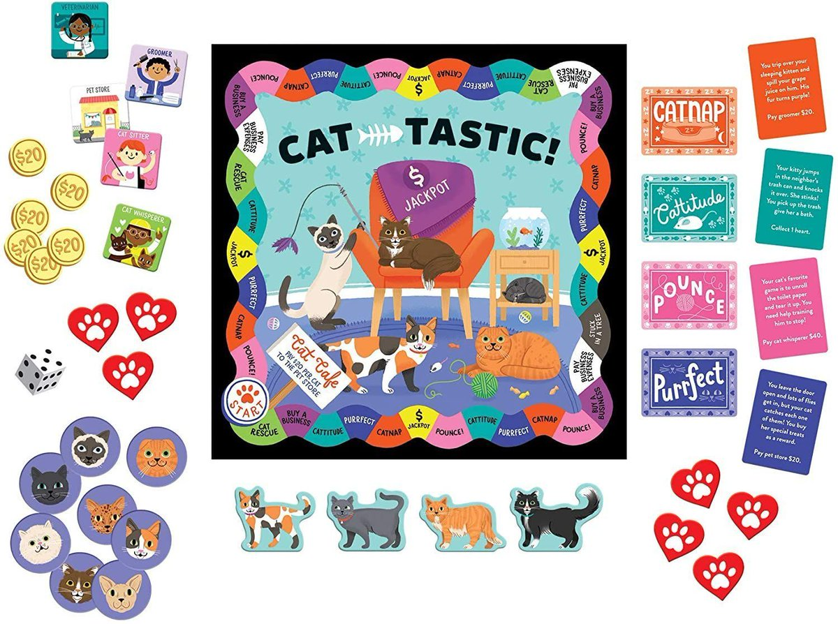 the Contest for February is this fun Cat Game!   Enter to win! Catch up with all my new posts. #CatLovers #CatsOfTwitter #CatCare #CatAppreciators
