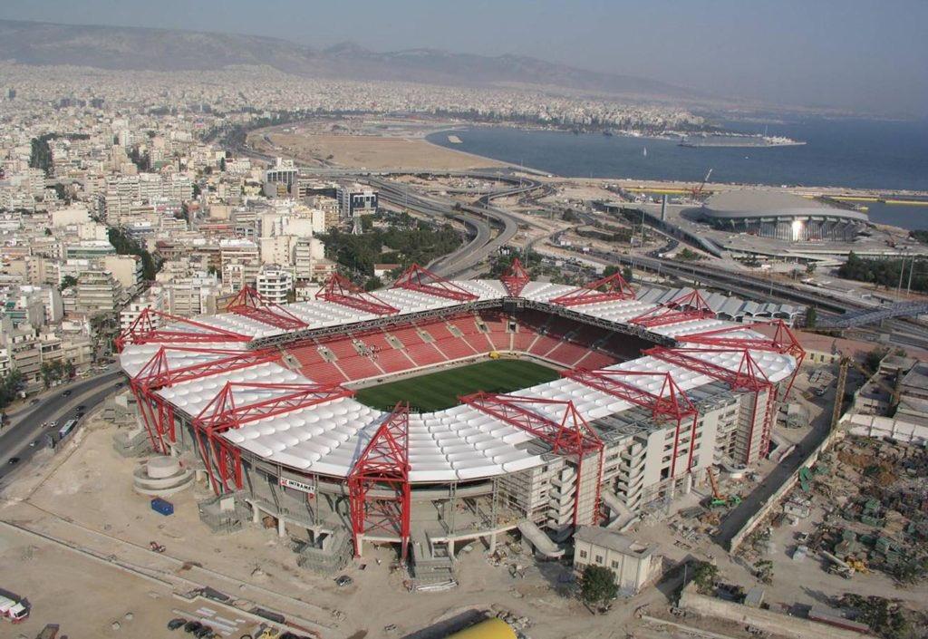 Who said our ground wasn't a fortress?Karaiskakis Stadium- Home Record 100% 💪🏼🔴⚪️ #arsenal #afc #coyg
