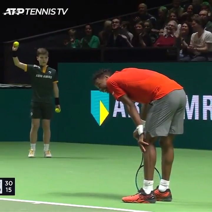 Tennis can be brutal on the body 🤕  The first ATP500 event of 2021 begins next week in Rotterdam! @abnamrowtt https://t.co/4gd9GB1WOh