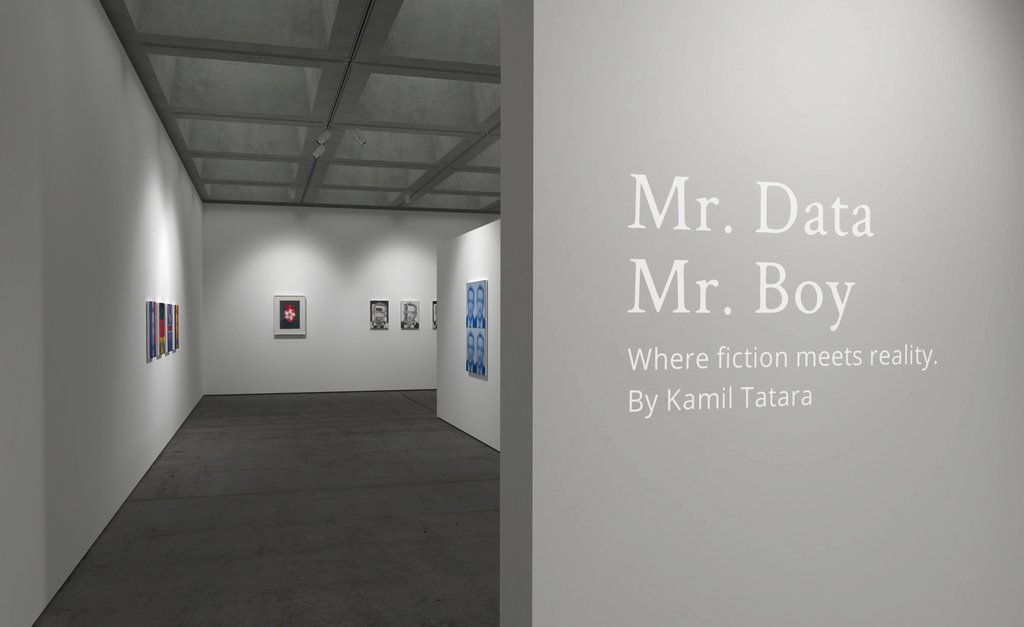 #CRONYloves Mr. Data / Mr. Boy - a series of paintings related to current global events by Kamil Tatara, presented in VR.   #inspiration #design #VR #art #creativity #VRexhibit #portrait #immersive #creative #arts #VRart