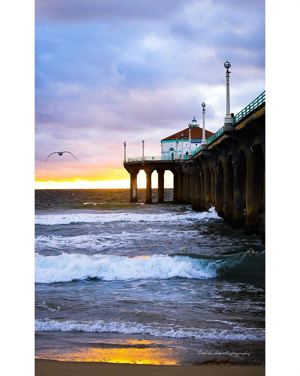 Hope you had a great day! #blessed #California #manhattanbeach #beautiful #nofilter #nikon #debbielabeaux #surfline #bodyglove @debbie_labeaux Just posted a photo @ Manhattan Beach, California