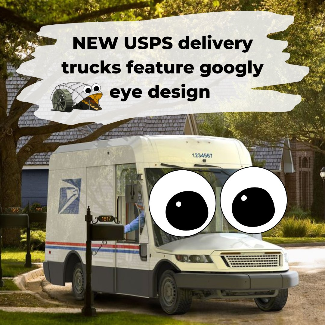 Diggin the new look USPS.