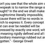 Image for the Tweet beginning: @SharylAttkisson #OrwellWasRight
