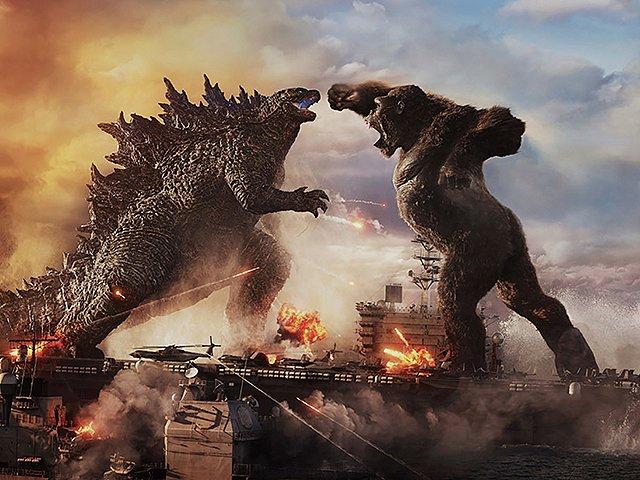 ポスター画像をたよりにコングを作ります。 #GodzillaVsKong  #Kong  #粘土
