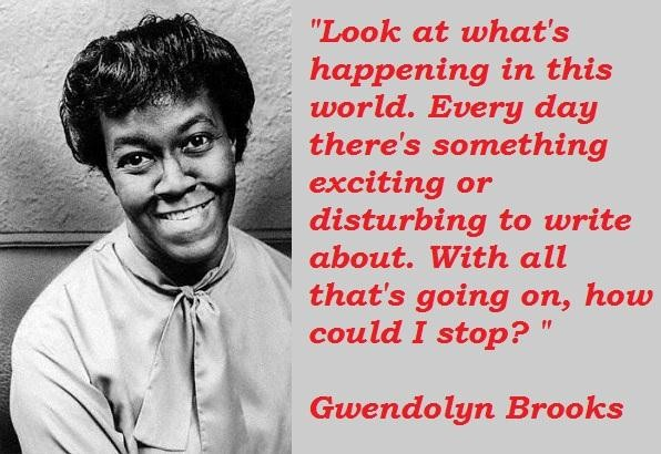 Pulitzer Prize winner Gwendolyn Brooks wrote more than twenty books of poetry in her lifetime  she was the first black woman appointed Poet Laureate of the United States  her poetry is deep & reflective  #BlackLivesMatter #BlackHistoryMonth2021 #Ubuntu