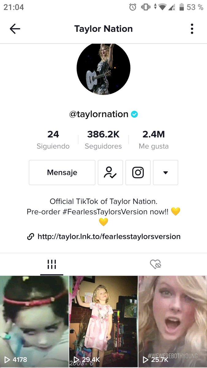 Juro que ni pensaba que lo viera #TaylorNation pero me subió y al día siguiente de subirlo 😭 LLORO QUE RÁPIDO, QUE LINDO, QUE EMOCIÓN AAAAA #TaylorSwift #wewerebothyoung