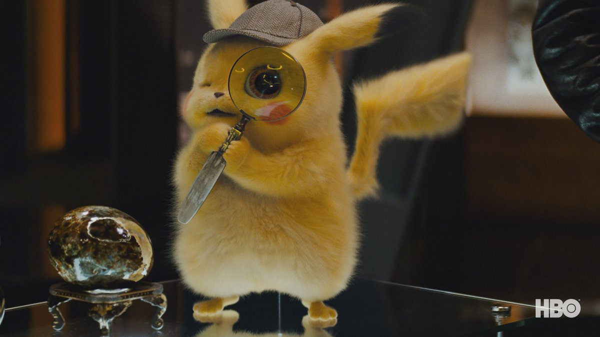 Today, I'm celebrating the 25th anniversary of Pokemon with this little guy ⚡️ Pokemon Detective Pikachu is streaming now on  HBO Max.