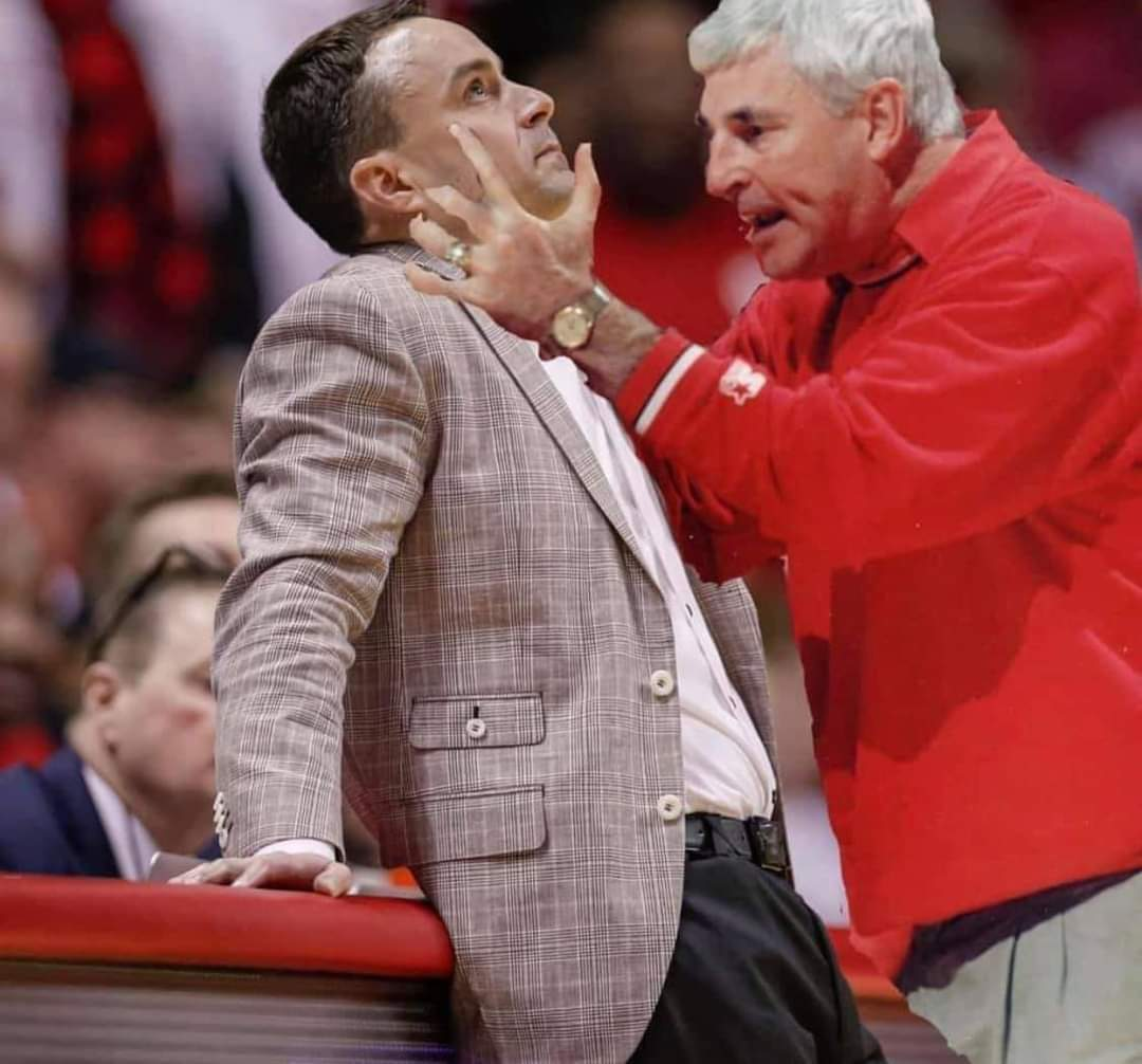 This is the best thing I have seen In awhile. The General is pissed! #iubb