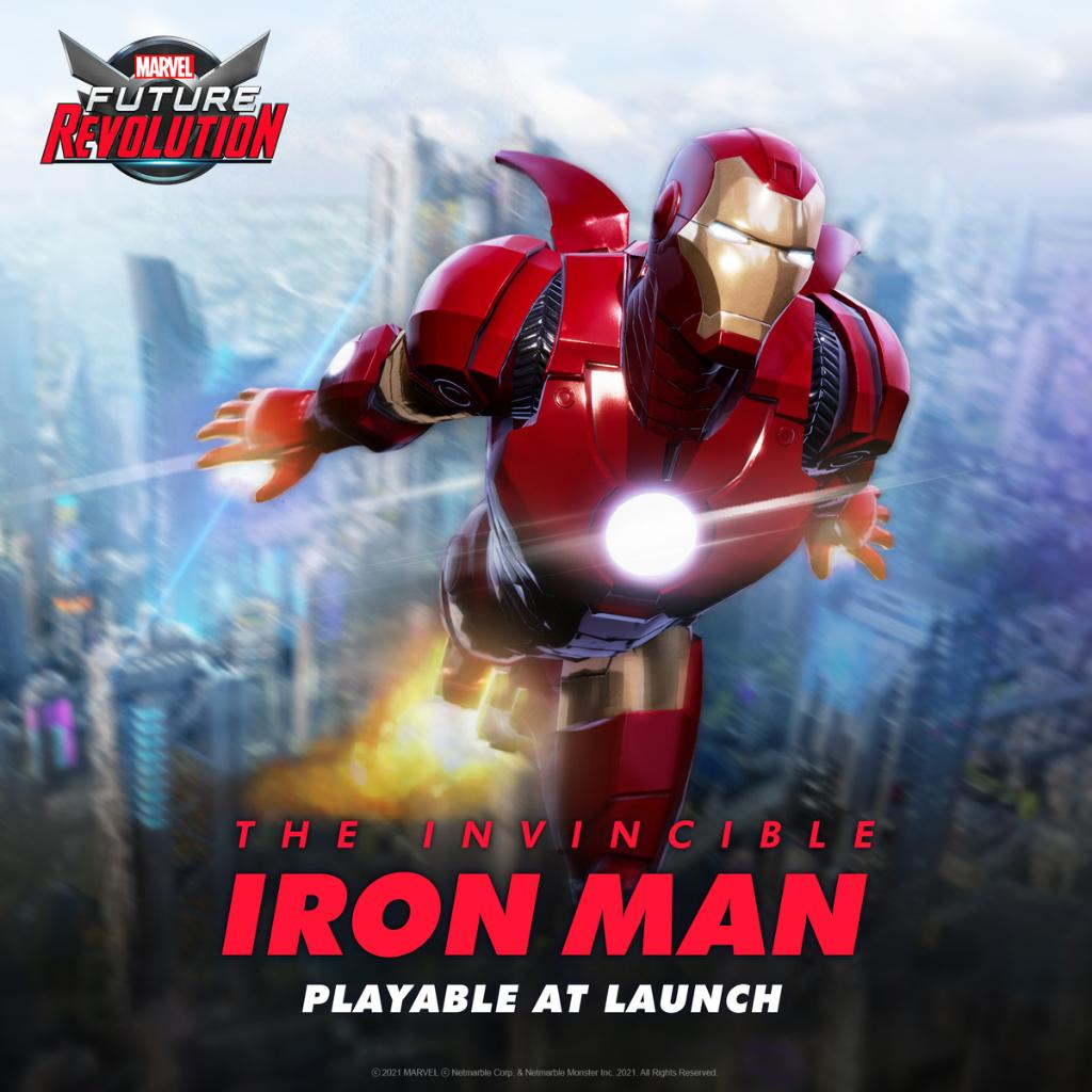 Take flight with the Armored Avenger 💥 Iron Man will be a playable character at launch in #MARVELFutureRevolution! #RevolutionStartsHere