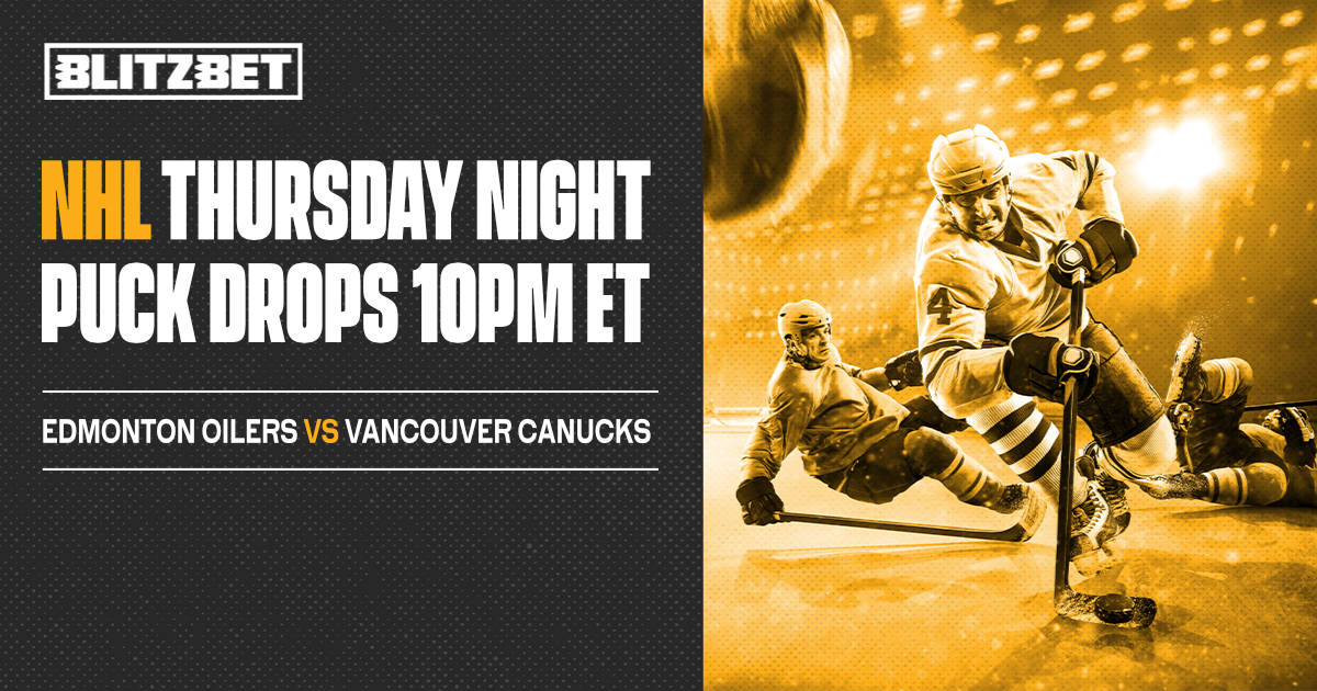 #NHL from Rogers Arena 🕙 10PM ET 🏒  #LetsGoOilers 🆚 #Canucks  All markets ⬇️   #EDMvsVAN #IceHockey #Hockey #HockeyTwitter