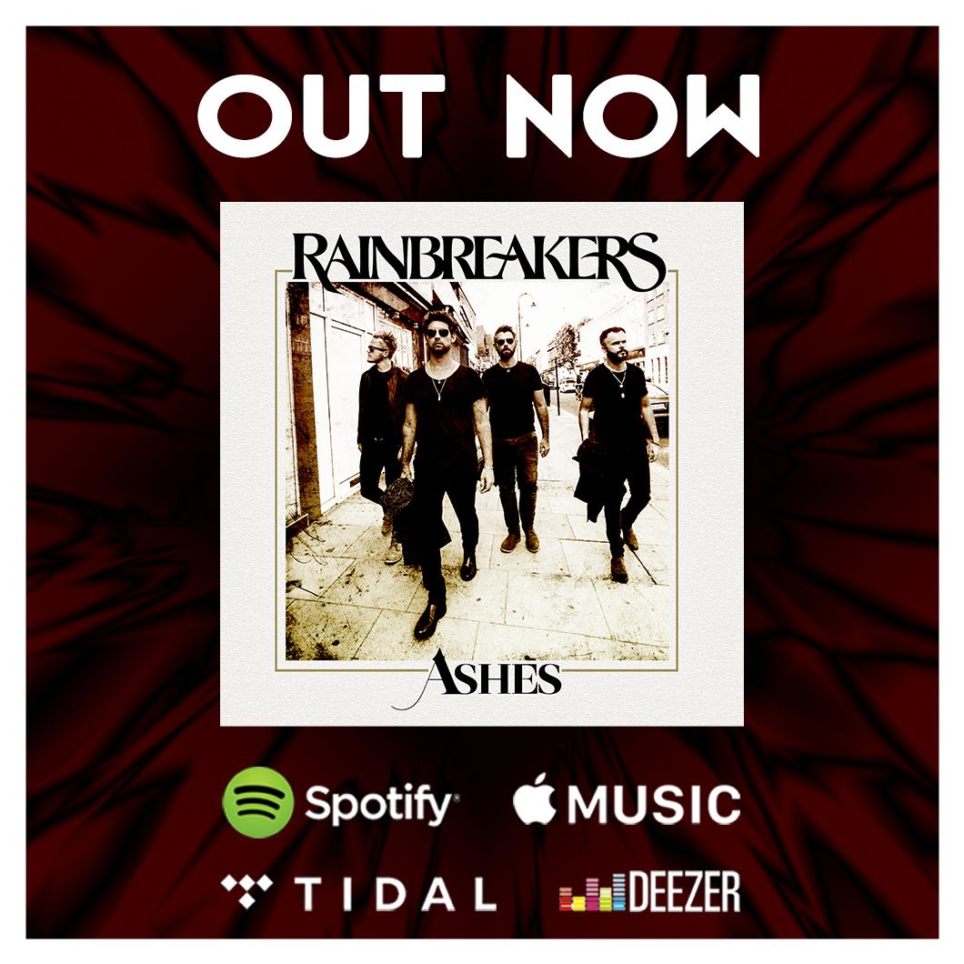 ⚡Stream or Download Ashes Now ⚡️   #Rainbreakers #Ashes #Spotify #AppleMusic #amazonmusic #deezer #youtubemusic #OutNow