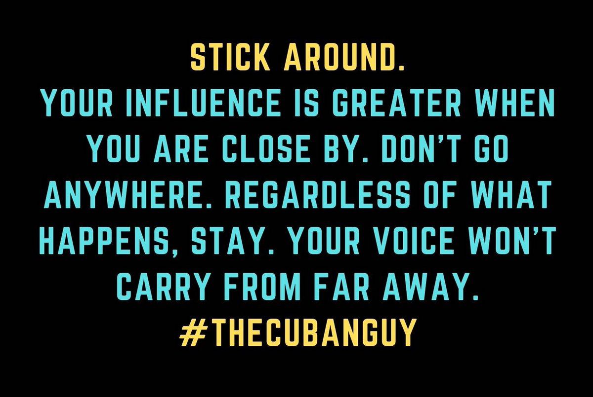 #TheCubanGuy #MotivationalSpeaker #inspirationoftheDay #inspirationalQuotes #quotes #DailyMotivation #MotivationalQuote #positivethinking #wise #dailyinspiration #GetInspired #BeInspired #Motivation #Inspiration #MondayMotivation