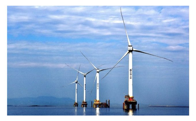 China accounted for half of new global offshore wind capacity in 2020 Photo