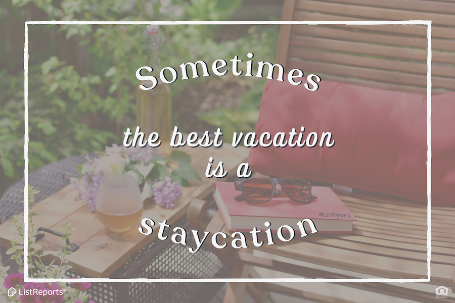 Your home may have been your office last year, make it your hotel and vacation now! What's the best staycation you've ever had? #thehelpfulagent #home #houseexpert #house #listreports #realestate #staycation #vacation #dreamhome #realestateagent #homeownership