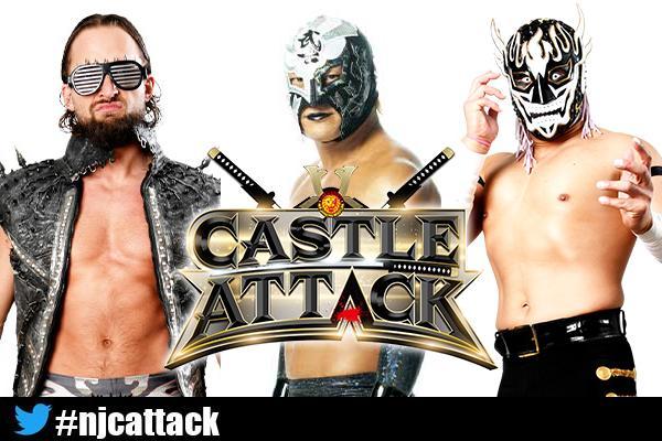 New IWGP Junior Heavyweight Match Set For NJPW Castle Attack