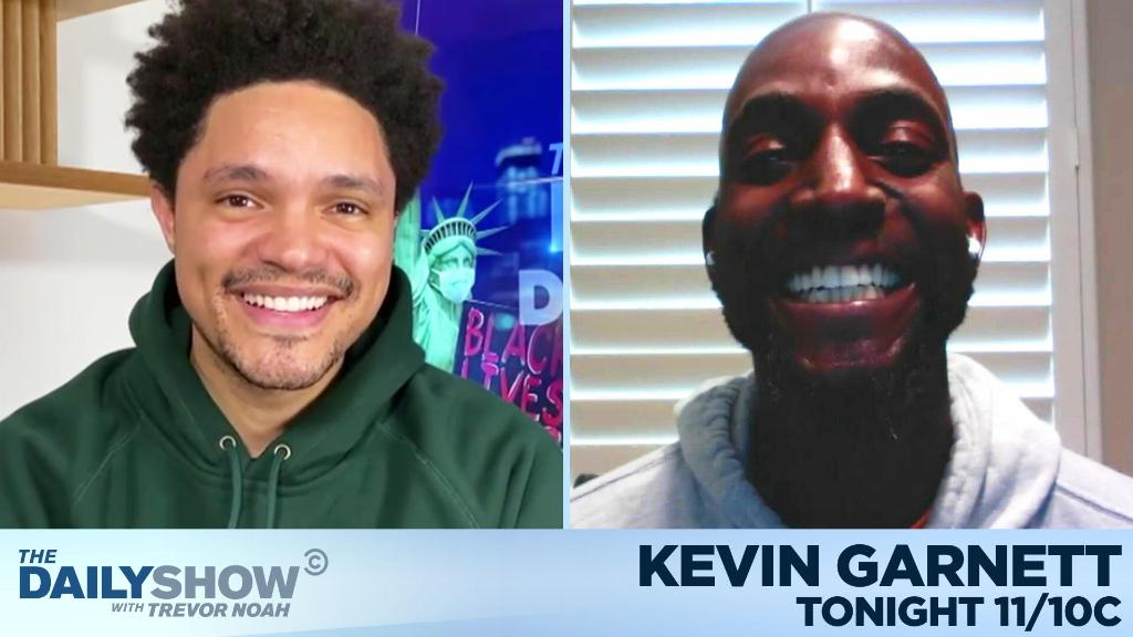 TONIGHT: NBA Hall of Famer @KevinGarnett5KG is here!