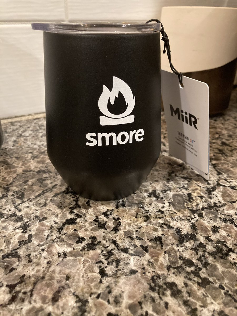 Cheers 🎉 @SmoreNewsletter!! Thanks for always filling my cup 🥤with fun swag... AND always making my newsletters shine ☀️with your awesome layouts to choose from!🏕 #edtech #teachertwitter #tech #communication #Wednesdayvibe