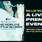 Image for the Tweet beginning: The Billie Eilish: The World's