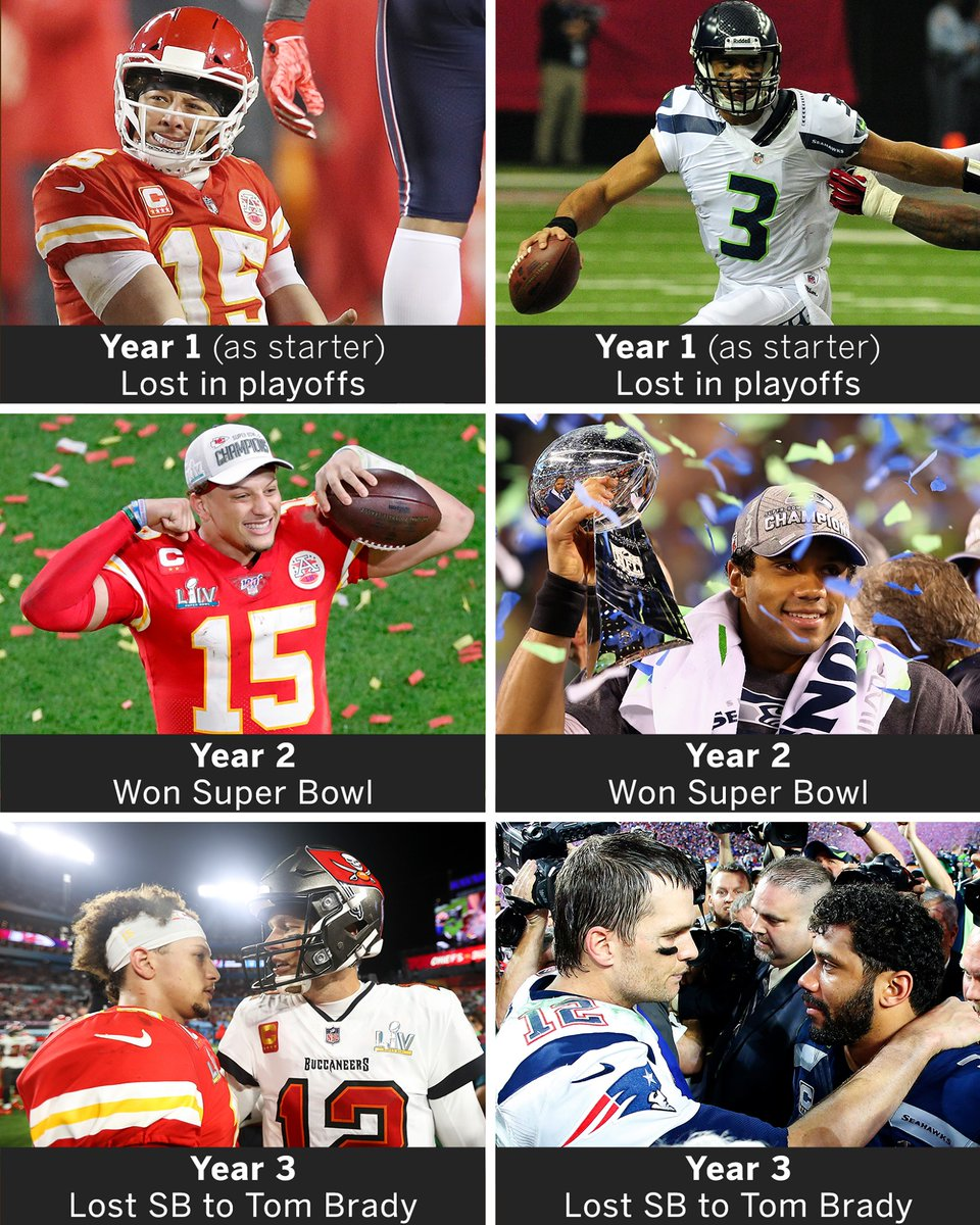 What do you think about this just a coincidence, or does it mean something? #NFL #ChiefsKingdom #Seahawks