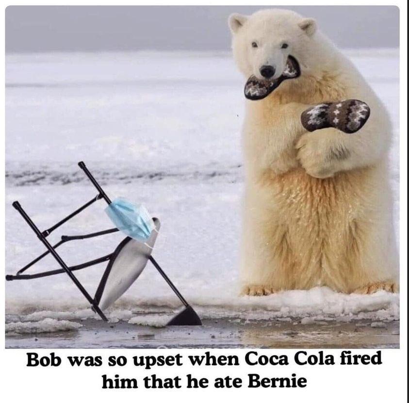 #BerniesMittens #Coke #CocaCola