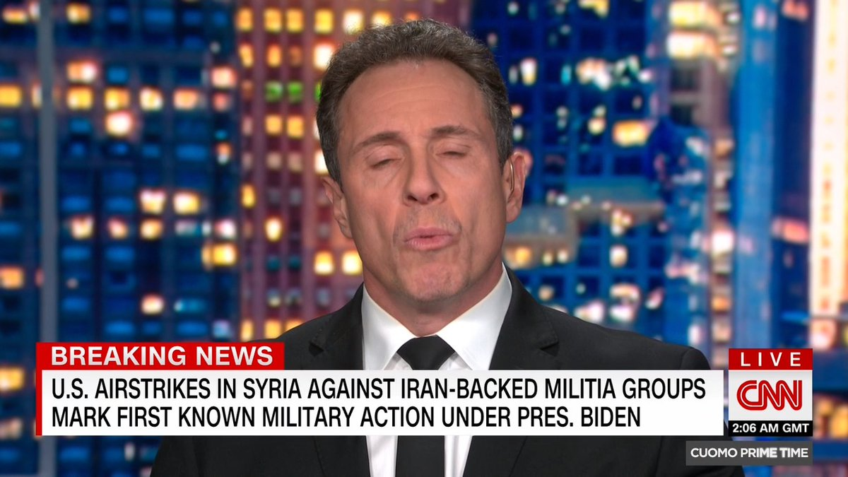 """.@ChrisCuomo: """"The more we learn about what happened on January 6, and the scale of it, the worse it gets, and the more future threats there may be to come."""""""