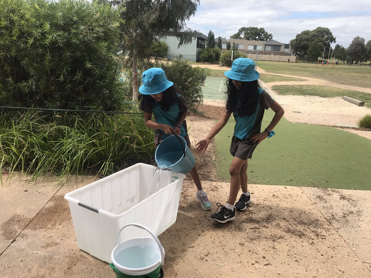 "Creating awareness through the water challenge. "" It was so heavy  but I can't imagine  what it's like to collect water to drink""- Year 4 @CaritasAust #Lent #BeMore2021"