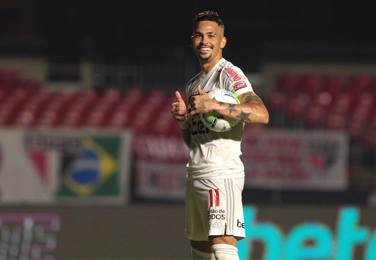 Replying to @SaoPauloFC: Luciano: 1️⃣8️⃣ gols e artilheiro do @Brasileirao 🇾🇪