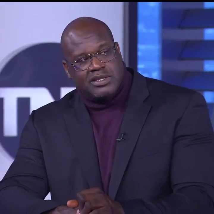 """""""You're going to see a new approach with me talking about these bums.""""  @SHAQ said he's going to start being nicer😭  (via @NBAonTNT)"""