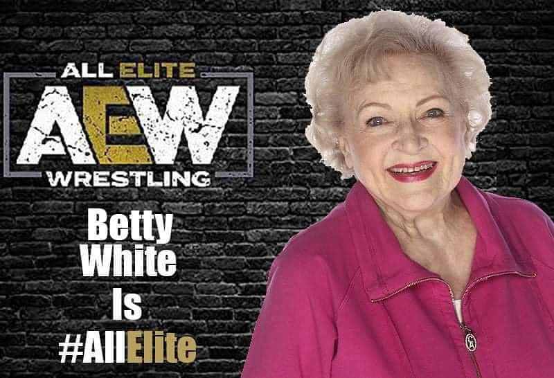 The perfect birthday gift doesn't exi-  #AEW #BettyWhite #GoldenGirls #RoseNylund #saintolaf
