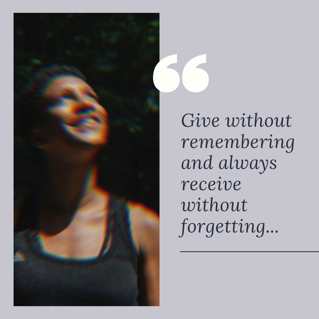 Give without remembering and receive without forgetting.. #friday #fridayvibes #motivation #quotes #quoteoftheday #quotestoliveby #bankruptcy #finance #FinancialQuotes