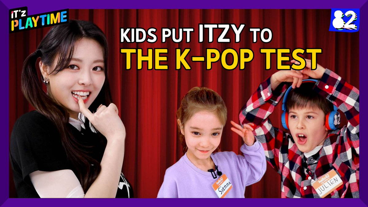 [IT'z PLAYTIME]  EP.02 K-pop Battle: ITZY vs. Kids   #ITZY #있지 @ITZYofficial #MIDZY #믿지 #ITzPLAYTIME #ITZYxhello82 @hello82official
