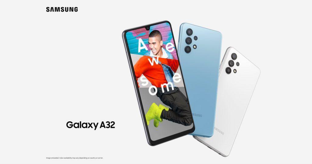 #SamsungGalaxyA324G Goes Official!  •6.4-inch FHD+ Super AMOLED Display (90Hz) •MediaTek Helio G85 SoC •64MP+8MP+5MP+5MP (Rear) •5,000mAh battery  •15W Fast Charging  #SamsungPlaygroundMx #SamsungGalaxyA32 #SamsungUnpacked #GalaxyS215G #GalaxyS21Ultra