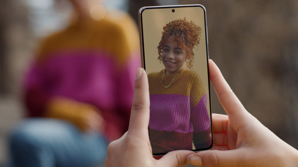 The end of nope. Always look good with #PortraitMode. #GalaxyS21 and Galaxy S21 Plus. Learn more: