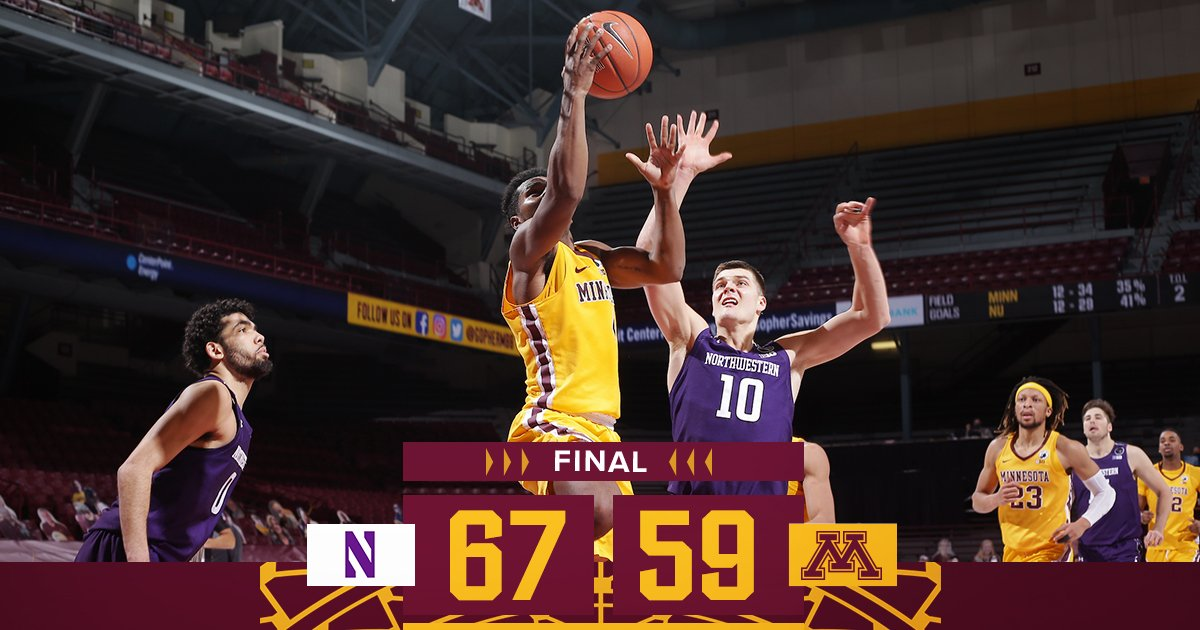 Final from Williams Arena
