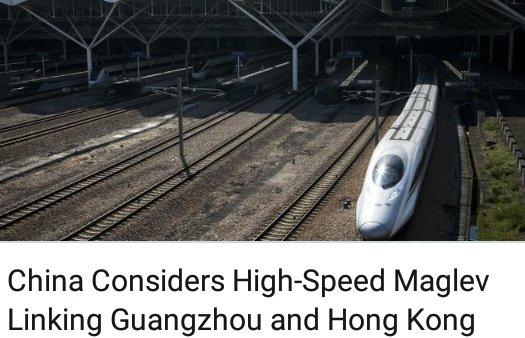 China Considers High-Speed Maglev Linking Guangzhou and Hong Kong Photo