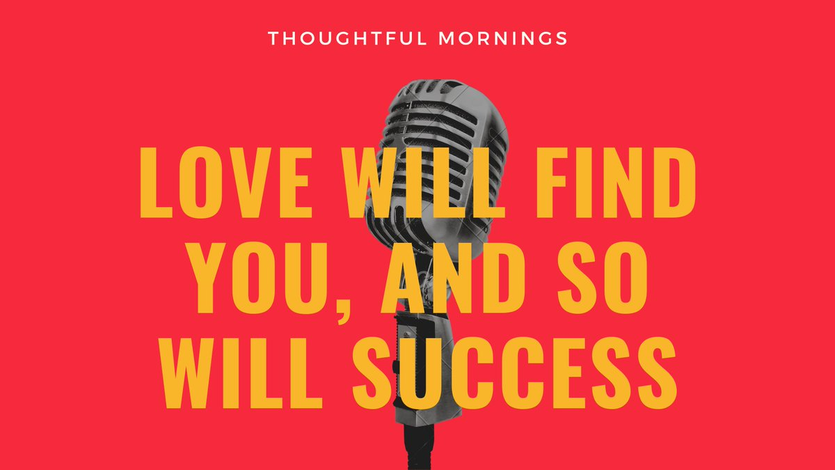 Have faith in the universe and keep going. Our true love may be a person, a job, a position or a vision of ourselves- whatever it is, work towards it and it will happen.   #thoughtfulmornings #love #truelove #passions #dream #lawofattraction