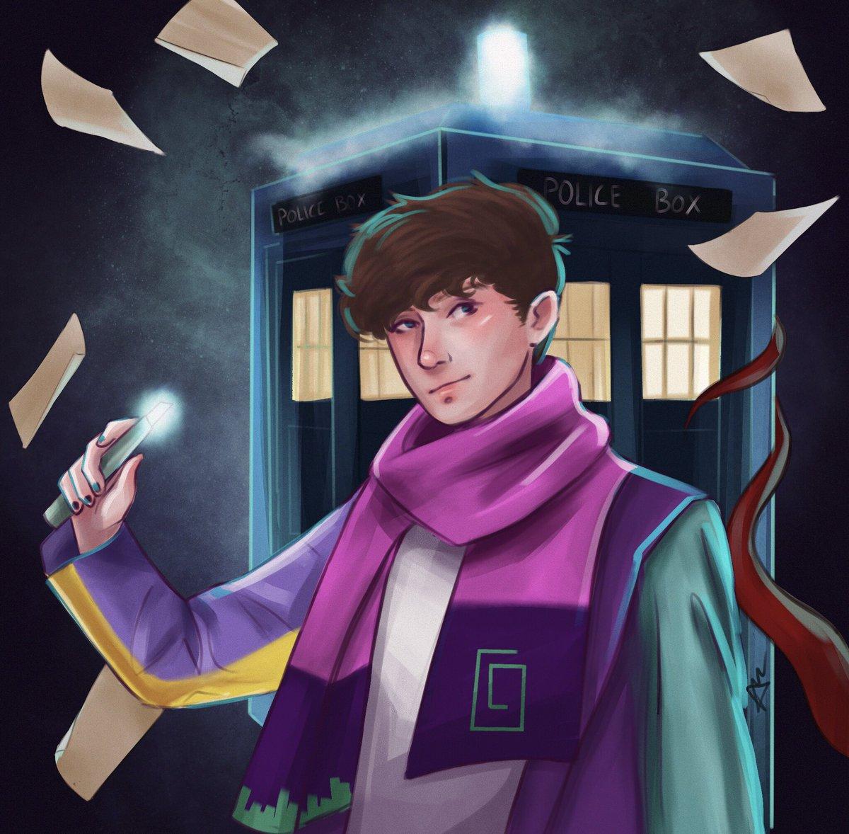 karl but he's the doctor #TALESFROMTHESMPfanart #TALESFROMTHESMP