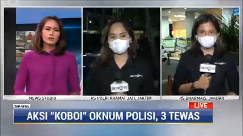 Jenazah tiga korban penembakan anggota Polsek Kalideres, Bripka CS sudah diserahterimakan kepada pihak keluarga usai menjalani autopsi di RS Polri Kramat Jati, Jakarta Timur . #TopNewsMetroTV