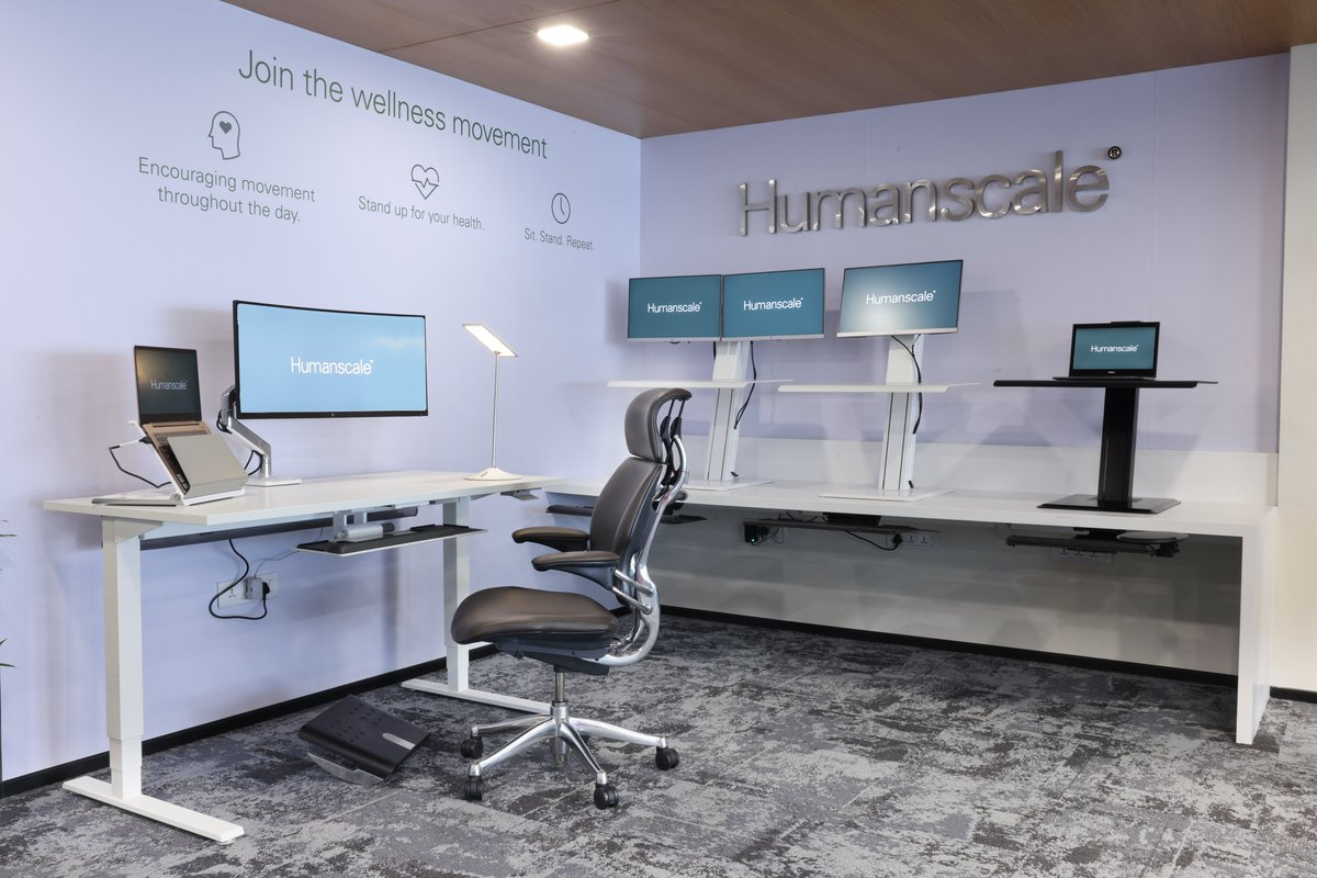 Commencing Today! Humanscale 'Ergonomic Experience Centre' at Hyderabad. Visit our showroom to view best-in-class ergonomic solutions for the office or home.  #ergonomics #showroom #launch #inauguration