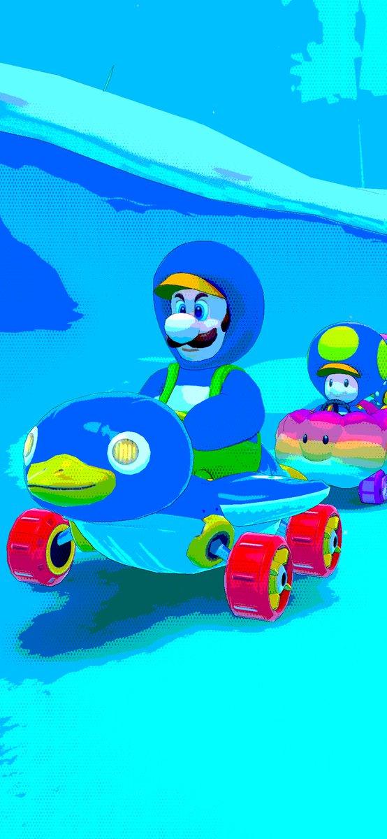 test ツイッターメディア - ペンギン姿はやっぱり良いな😃 #マリオカートツアー https://t.co/v3ifKdkyRU