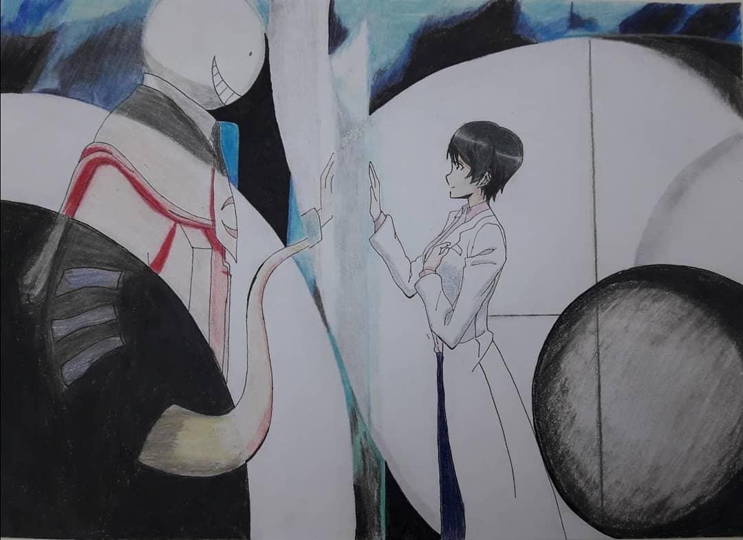 #anime #aguri #korosensei #korosenseixaguri  #ansatsukyoushitsu #assassinationclassroom #schoolanime #manga #mangaanime  #sketchbook  #drawing #opening4 #papelylapiz #karmaakabane #nagisashiota #otaku #mangaansatsukyoushitsu #mangastyle #スケッチ #お絵かき #animestyle #ア二メ