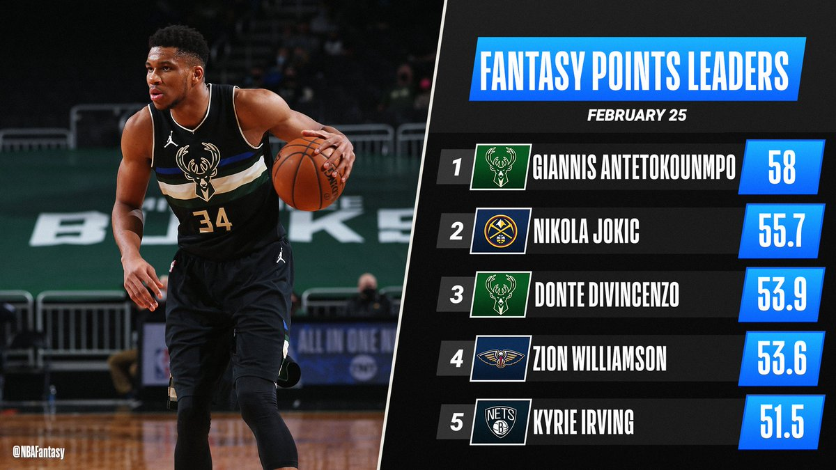 Replying to @NBAFantasy: 38 Points ✅ 10 Boards ✅  Another #NBAFantasy Player of the Night accolade goes to Greek Freak 🏆