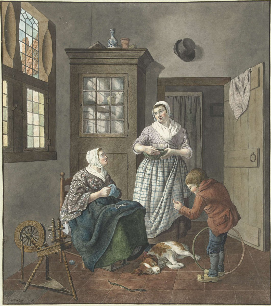 test Twitter Media - Interieur met naaiende vrouw, dienstmeid en spelende jongen, 1797 https://t.co/XameV48LRa #museumarchive #europeana https://t.co/4sv3Z2bhnd